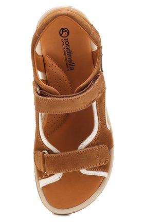 Замшевые сандалии   Фото №4