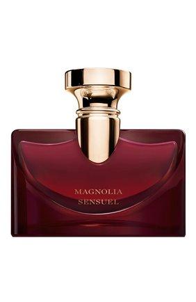Женский парфюмерная вода splendida magnolia sensuel BVLGARI бесцветного цвета, арт. 97734BVL | Фото 1