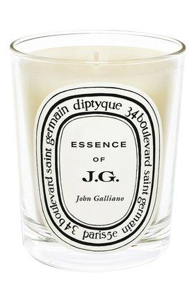 Мужская свеча essence of john galliano DIPTYQUE бесцветного цвета, арт. 3700431412959 | Фото 1