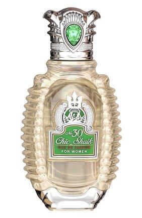 Женский парфюмерная вода chic shaik for women № 30  SHAIK бесцветного цвета, арт. 6084000006099 | Фото 1