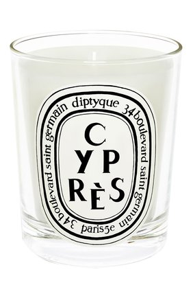 Мужская свеча cypres DIPTYQUE бесцветного цвета, арт. 3700431405098 | Фото 1