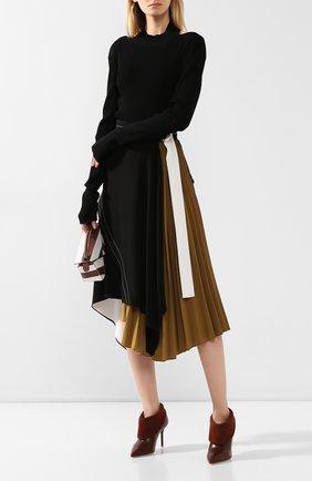Женские кожаные ботильоны tomi MALONE SOULIERS коричневого цвета, арт. T0MI 85-1 | Фото 2