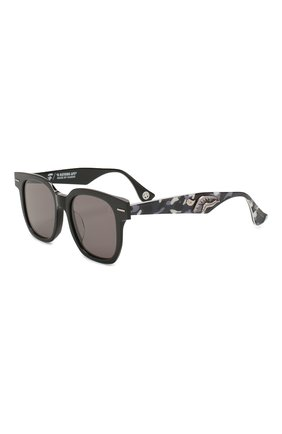 Мужские солнцезащитные очки BAPE черного цвета, арт. 1F70182046 | Фото 1