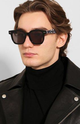 Мужские солнцезащитные очки BAPE черного цвета, арт. 1F70182046 | Фото 2