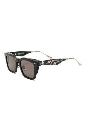 Мужские солнцезащитные очки BAPE черного цвета, арт. 1F70182045 | Фото 1