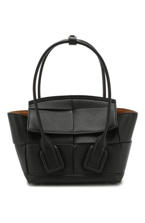 Женская сумка arco 29 BOTTEGA VENETA черного цвета, арт. 600606/VCP11 | Фото 1