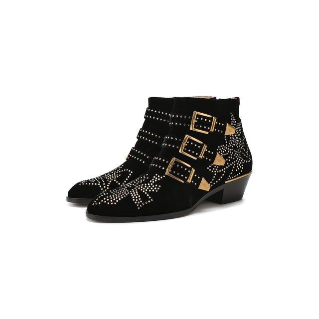 Текстильные ботинки Susanna Chloé