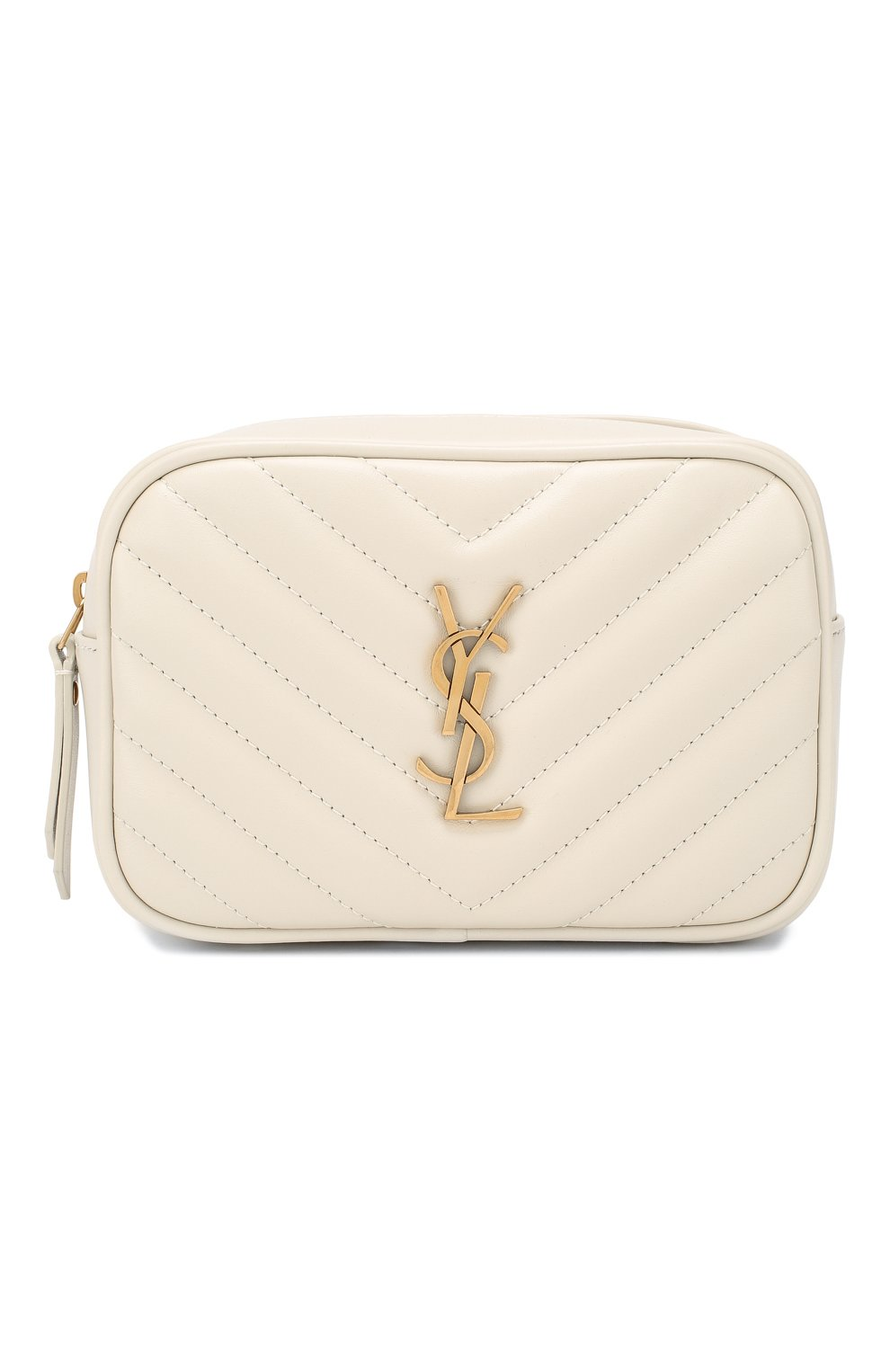 Женская поясная сумка lou SAINT LAURENT белого цвета, арт. 614031/DV707 | Фото 1
