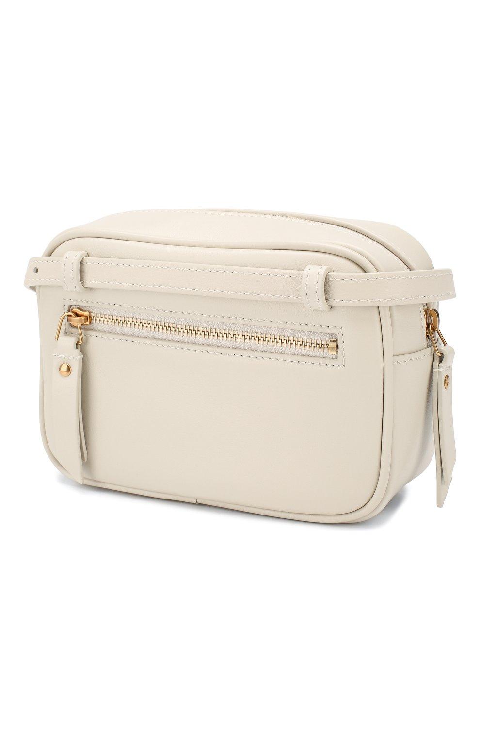 Женская поясная сумка lou SAINT LAURENT белого цвета, арт. 614031/DV707 | Фото 3