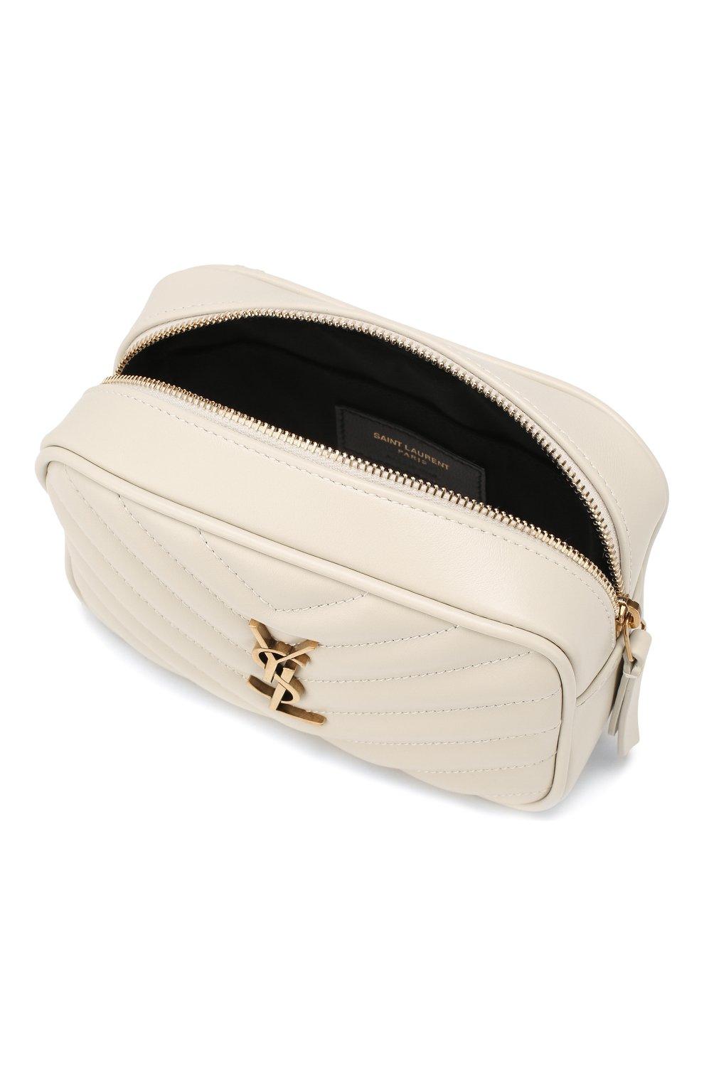 Женская поясная сумка lou SAINT LAURENT белого цвета, арт. 614031/DV707 | Фото 4