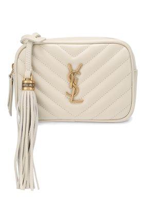 Женская поясная сумка lou SAINT LAURENT белого цвета, арт. 614031/DV707 | Фото 5