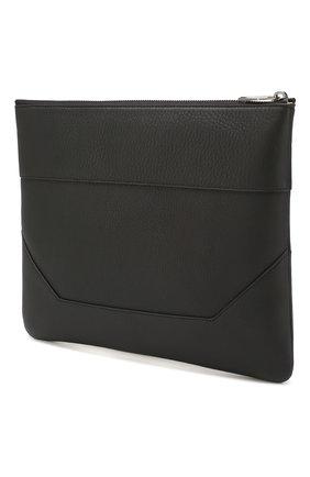 Мужская кожаный футляр для документов BALMAIN черного цвета, арт. TM1S093/LVCH | Фото 2
