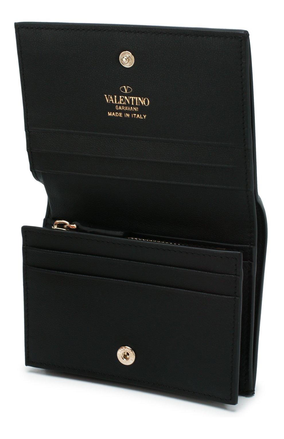 Кожаное портмоне Valentino Garavani | Фото №3