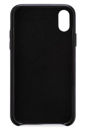 Мужской чехол для iphone x/xs VETEMENTS черного цвета, арт. SS20SA005 1373/W/IPH0NE XS | Фото 2