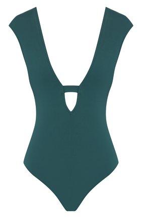 Женский слитный купальник GOTTEX зеленого цвета, арт. 20EL157   Фото 1