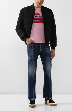 Мужские джинсы DSQUARED2 синего цвета, арт. S74LB0703/S30342 | Фото 2