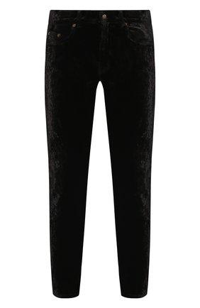 Мужские джинсы SAINT LAURENT черного цвета, арт. 601478/Y568X | Фото 1