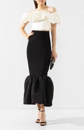 Женская юбка SOLACE черного цвета, арт. 0S25039 | Фото 2