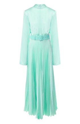 Женское платье с поясом SOLACE зеленого цвета, арт. 0S25093A | Фото 1