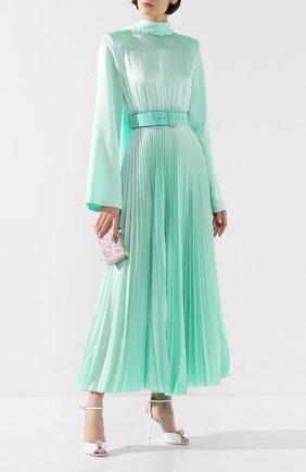 Женское платье с поясом SOLACE зеленого цвета, арт. 0S25093A | Фото 2