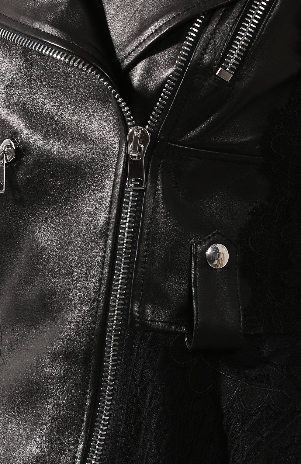 Кожаная куртка | Фото №5