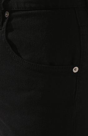 Женские джинсовые шорты DSQUARED2 черного цвета, арт. S80MU0002/S39781 | Фото 5