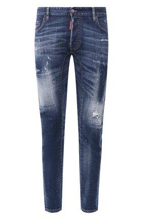Мужские джинсы DSQUARED2 синего цвета, арт. S74LB0729/S30342 | Фото 1
