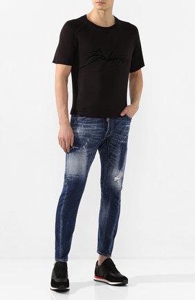 Мужские джинсы DSQUARED2 синего цвета, арт. S74LB0729/S30342 | Фото 2