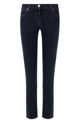 Женские джинсы VALENTINO синего цвета, арт. TB3DD09F55A | Фото 1
