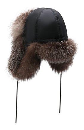 Детского шапка-ушанка саша FURLAND серого цвета, арт. 0107603310010600134 | Фото 2