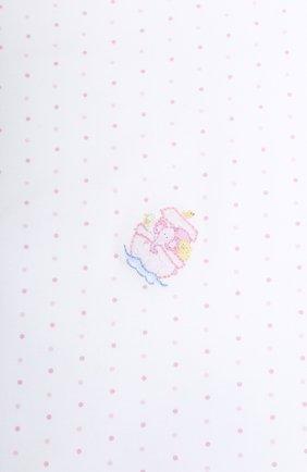 Детского покрывало noah's fri MAGNOLIA BABY розового цвета, арт. E109-52-PK | Фото 2