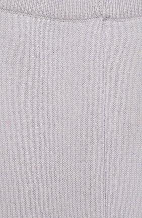 Детские кашемировые джоггеры OSCAR ET VALENTINE голубого цвета, арт. LEG01S | Фото 3 (Материал внешний: Шерсть)
