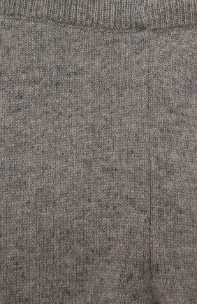Детские кашемировые джоггеры OSCAR ET VALENTINE серого цвета, арт. LEG01S   Фото 3