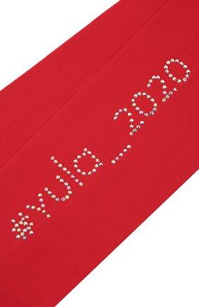 Детские колготки party collection 30 den YULA красного цвета, арт. YU-109 | Фото 2