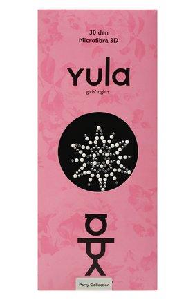 Детские колготки party collection 30 den YULA черного цвета, арт. YU-99 | Фото 1