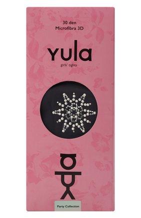 Детские колготки party collection 30 den YULA черного цвета, арт. YU-98 | Фото 1