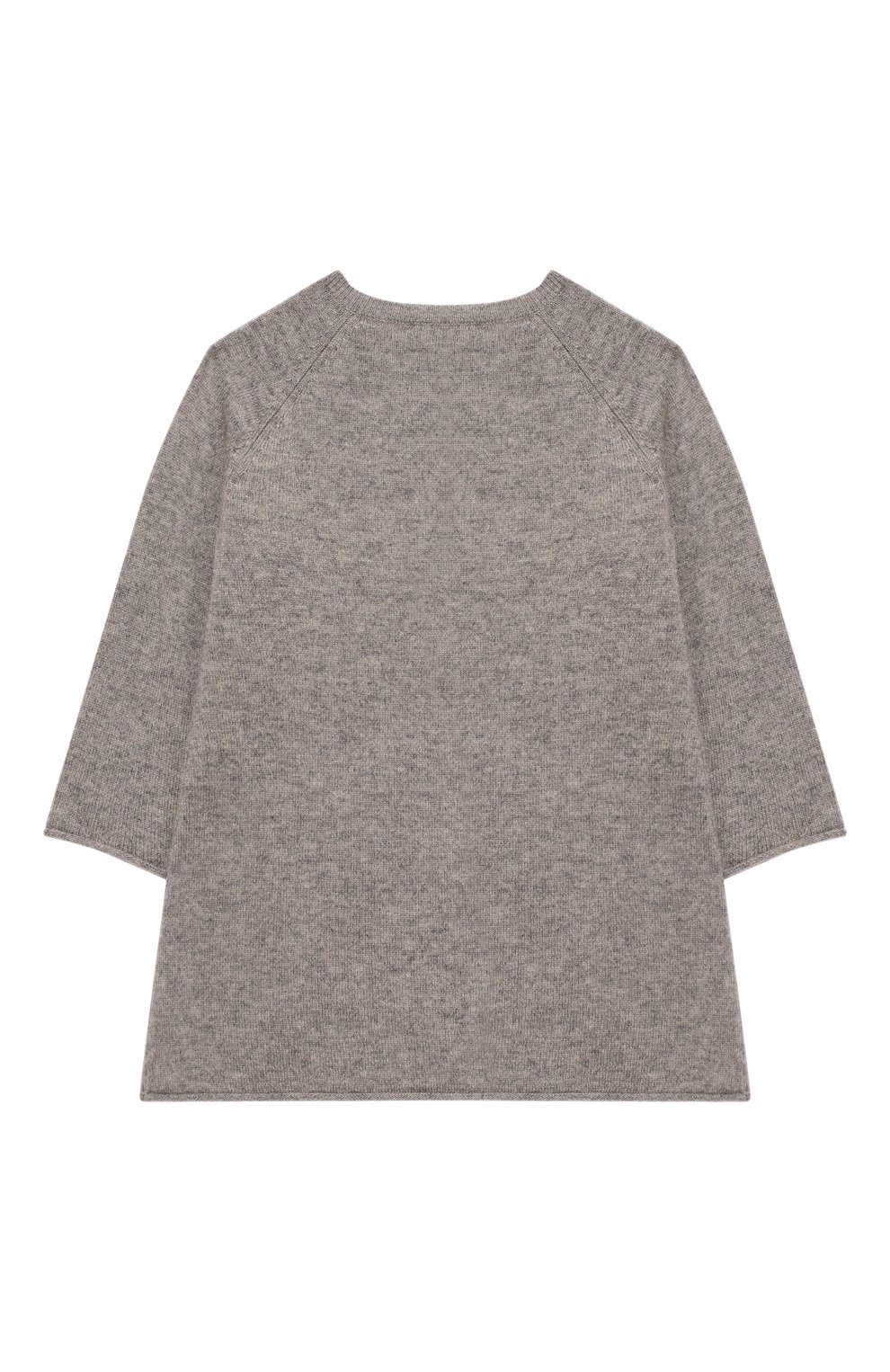 Женский кашемировое платье OSCAR ET VALENTINE серого цвета, арт. ROB01HAPPYS | Фото 2