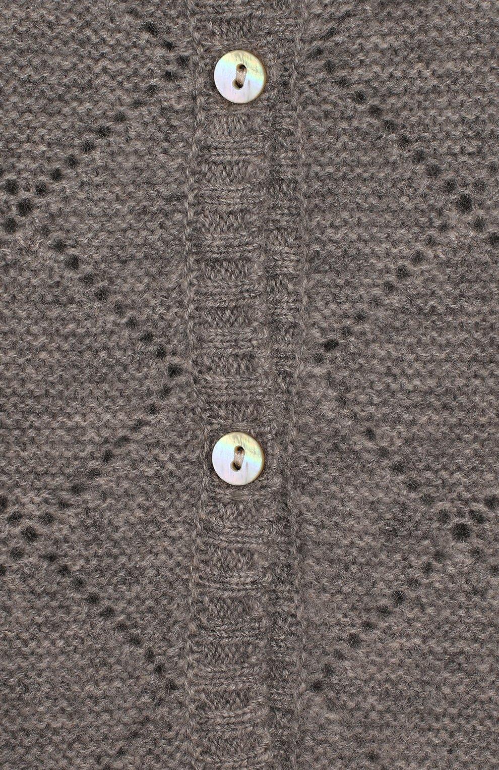 Кашемировый кардиган | Фото №3