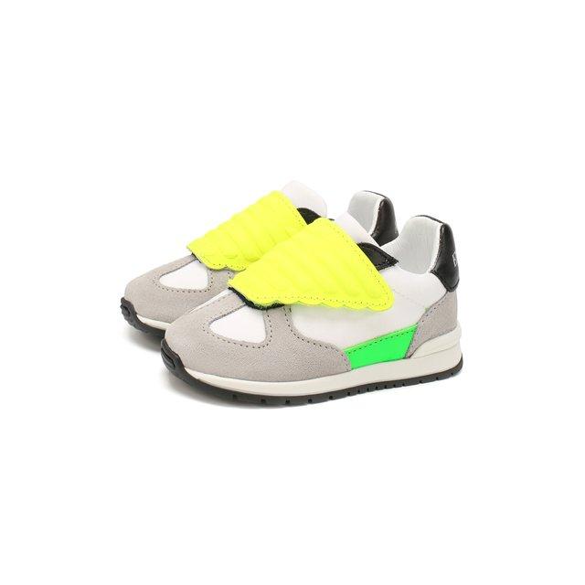 Кожаные кроссовки Emporio Armani — Кожаные кроссовки