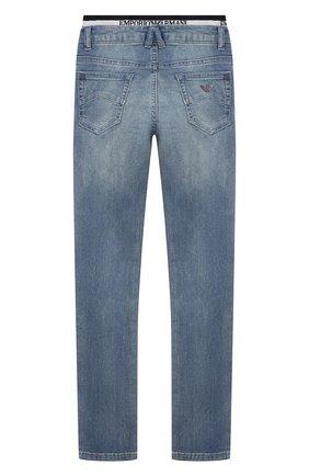 Детские джинсы EMPORIO ARMANI синего цвета, арт. 3H4J17/4DFNZ | Фото 2