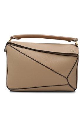 Женская сумка puzzle LOEWE бежевого цвета, арт. 32212KBS20 | Фото 1