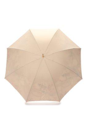 Женский зонт-трость PASOTTI OMBRELLI светло-бежевого цвета, арт. 189/RAS0 9A057/6/M17 | Фото 1