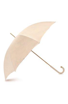 Женский зонт-трость PASOTTI OMBRELLI светло-бежевого цвета, арт. 189/RAS0 9A057/6/M17 | Фото 2