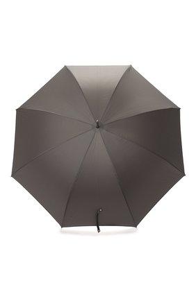 Женский зонт-трость PASOTTI OMBRELLI серого цвета, арт. 478/RAS0 6768/7/N36 | Фото 1