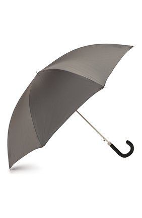 Женский зонт-трость PASOTTI OMBRELLI серого цвета, арт. 478/RAS0 6768/7/N36 | Фото 2