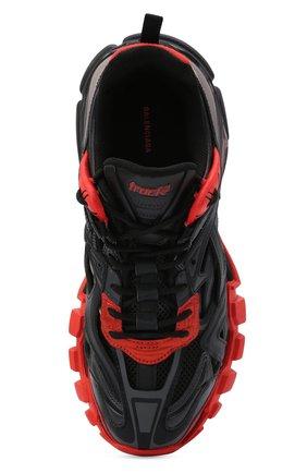 Мужские комбинированные кроссовки track.2 BALENCIAGA черного цвета, арт. 568614/W2GN3   Фото 5