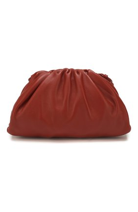 Женский клатч pouch 20 BOTTEGA VENETA кораллового цвета, арт. 585852/VCP40 | Фото 1