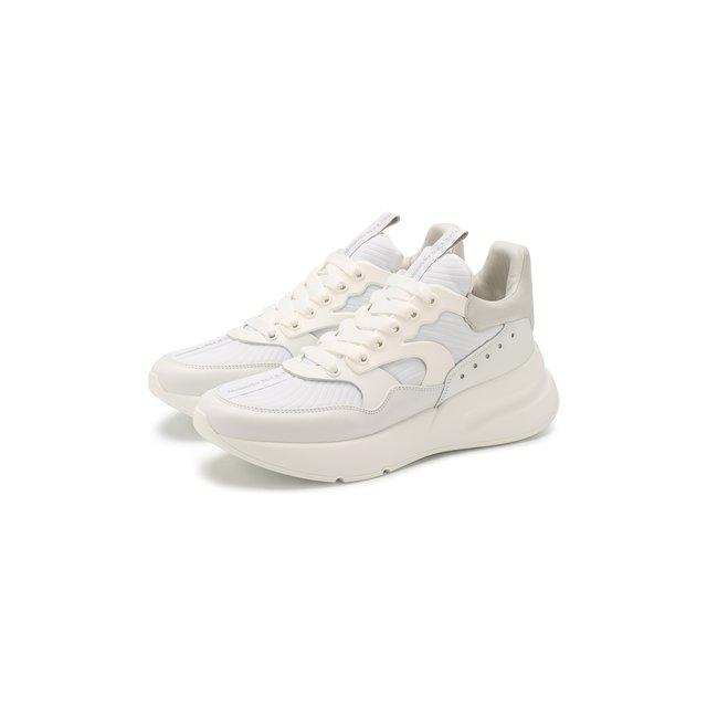 Комбинированные кроссовки Alexander McQueen — Комбинированные кроссовки