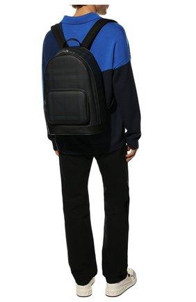 Мужской рюкзак BURBERRY синего цвета, арт. 8023699 | Фото 3