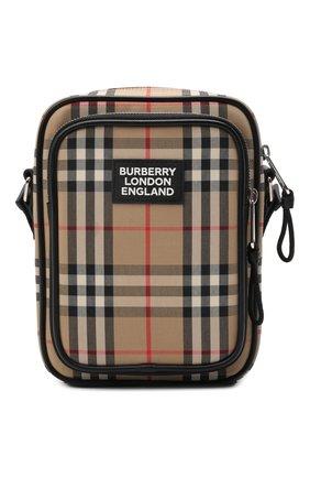 Мужская сумка-планшет BURBERRY бежевого цвета, арт. 8023381 | Фото 1